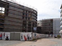 Bauphase Palaisvest