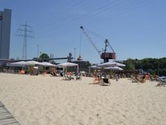 Beachbar Stadthafen