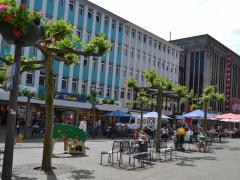Blick Auf Den Alstadtmarkt