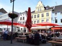 Blick über den Altstadtmarkt